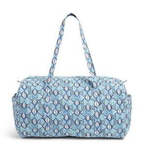 NEW Vera Bradley Go Fish Duffel Travel Bag